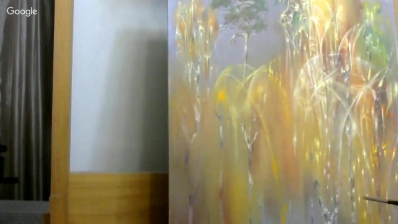 Осенний перелив Часть 2 А Маранов Мастер класс