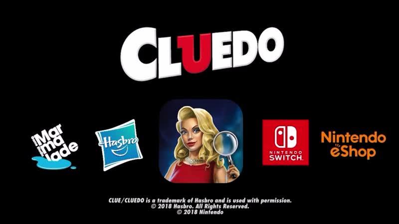 CLUEDO - Трейлер (Nintendo Switch)