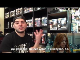 Shadowhunters ep 3x04 AbnormallyAdam reaction video (rus sub)