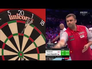 Poland vs Czech Republic (PDC World Cup of Darts 2019 / Round 1)