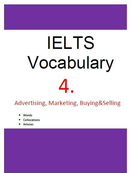 ielts vocabulary 4 advertising marketing