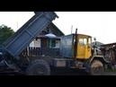 Купил списанный ЗИЛ 131 и СКРЕСТИЛ с К 700 а так же поставил двигатель от трактора д 240