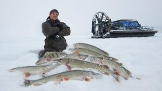 ЩУКИ СОШЛИ С УМА!!! БЕШЕННЫЙ ЖОР, СЕВЕР, РЕКОРДЫ и ДИКИЕ МЕСТА! Лучшая зимняя рыбалка в жизни