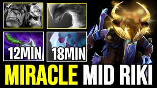 How MIRACLE Mid Riki Outplayed Alchemist like a Boss - 12min Diffusal Blade