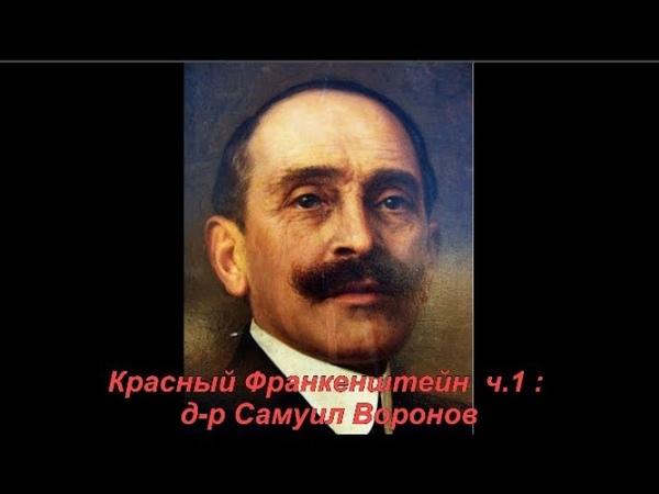 Красный Франкенштейн ч 1 д р Самуил Воронов №1138