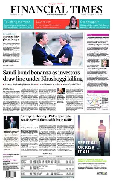 2019-04-10 Financial Times UK