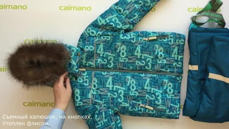 Зимний комплект CALVIN цвет 809 Caimano Зима 2018 19