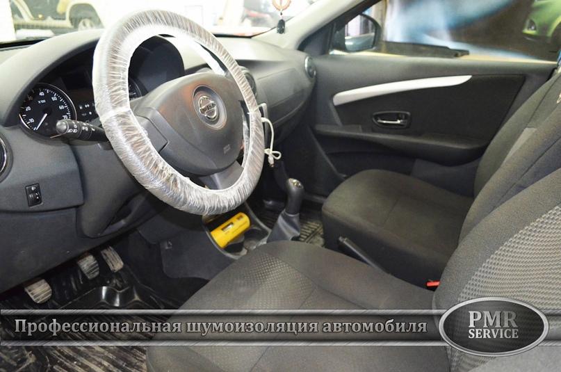 Шумоизоляция Nissan Almera, изображение №20