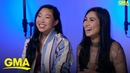 Awkwafina talks diversity and female empowerment in upcoming film l GMA Digital