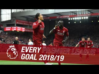 All 89 goals Liverpool. Premier League    18/19 season