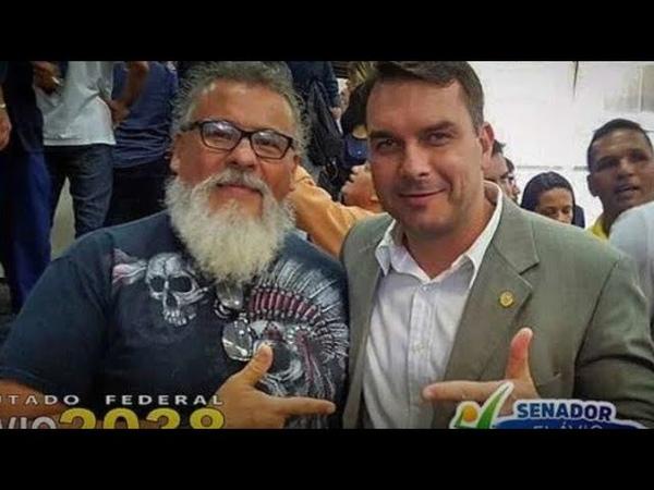 Mais um herói de Flávio Bolsonaro preso Envolvimento com milícias está evidente demais
