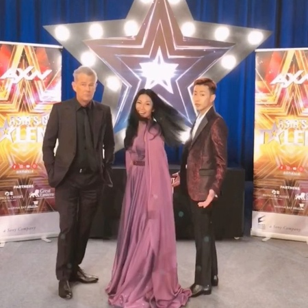 Jay Park 박재범 $hway bum on Instagram Once again @asiasgottalent with the triple OG legend @davidfoster and the beautiful @anggun cipta oh yeah