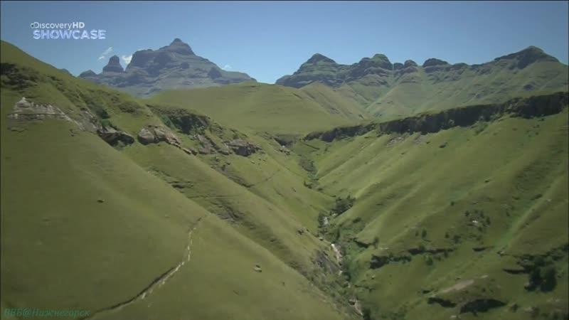 BBC Прогулки по Южной Африке 2 Долина Драконовых гор Познавательный природа путешествие 2010