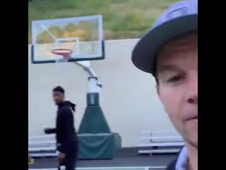 Mark Wahlberg found the perfect basketball coach for his 9-year-old daughter