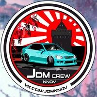 Логотип JDM Crew NNov
