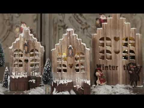 DIY Lablanche Weihnachtshäuschen