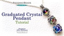 Graduated Crystal (Mother's) Pendant - Jewelry Making Tutorial