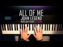 How To Play John Legend All Of Me Piano Tutorial Lesson Sheets
