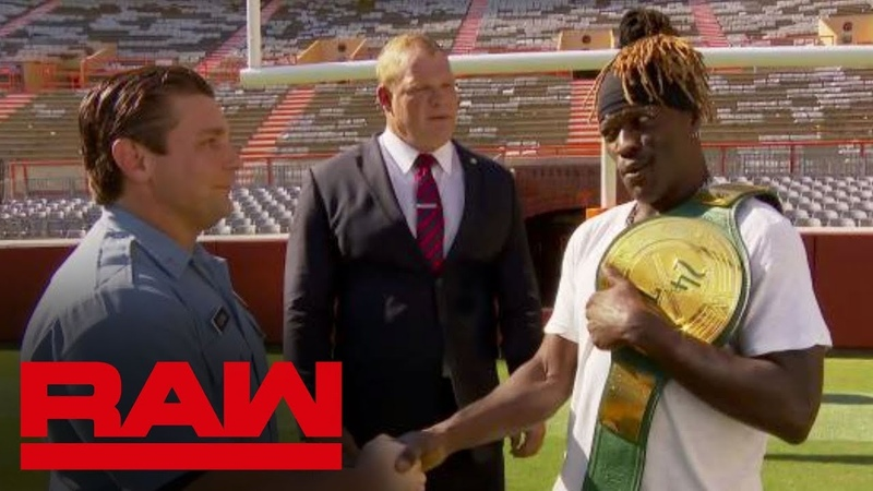 R Truth loses 24 7 Title to Mayor Glenn Jacobs then reclaims it Raw Sept 16 2019