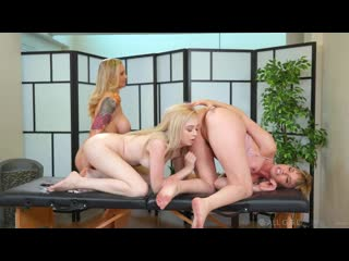 Julia ann, dana dearmond and lexi lore unfriendly competition [massage, lesbian]