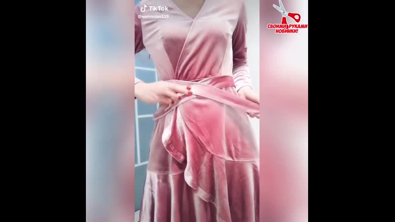 Крутые повязки на платье! Класс!