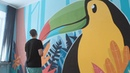 Стенограффия 2018 в Омске Искусство добрых стен