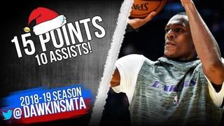 Rajon Rondo Full Highlights in 2018 Christmas Lakers vs Warriors - 15 Pts, 10 Asts! | FreeDawkins