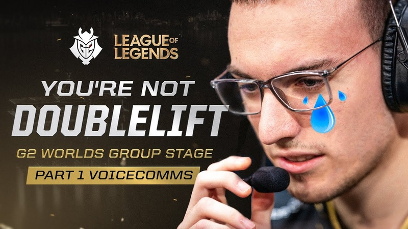 Perkz, you're not Doublelift | G2 Worlds Groups Part 1 Voicecomms