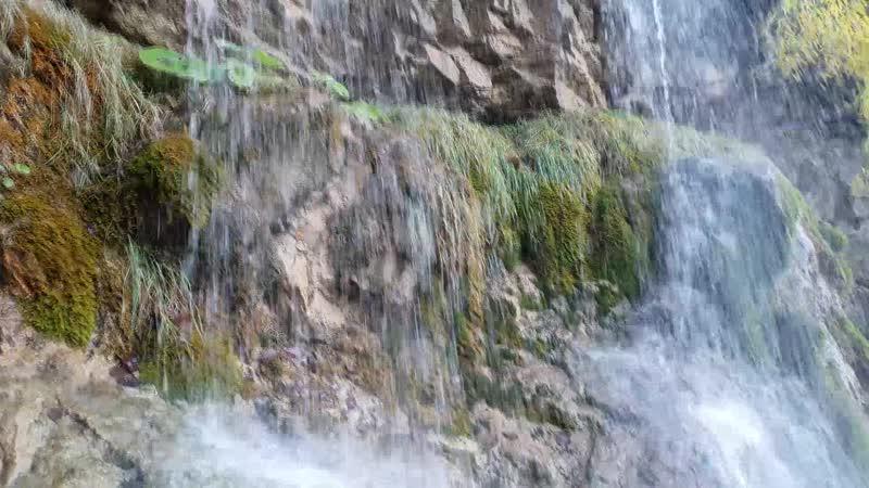 Мезмай камень Лунные водопады Первый поход для Евы