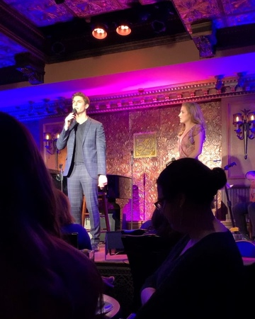 Emilie Autumn on Instagram Thank you @derek klena and friends for a fabulous night at @54below last week with special guest the brilliant and s