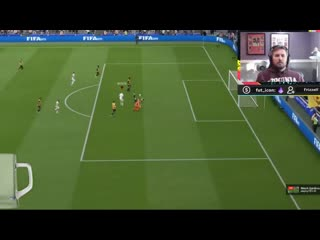 A beautiful chip goal for  so I thought. FIFA20
