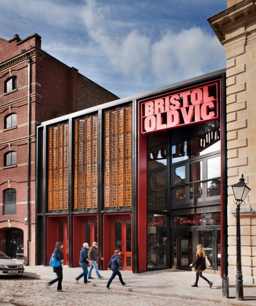 Haworth Tompkins создает публичное фойе для театра Bristol Old Vic Theatre