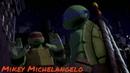 Клип черепашки ниндзя Леонардо