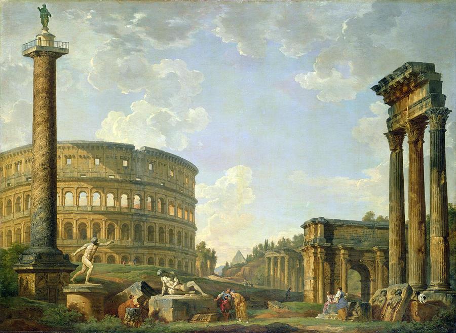 разрушенный рим