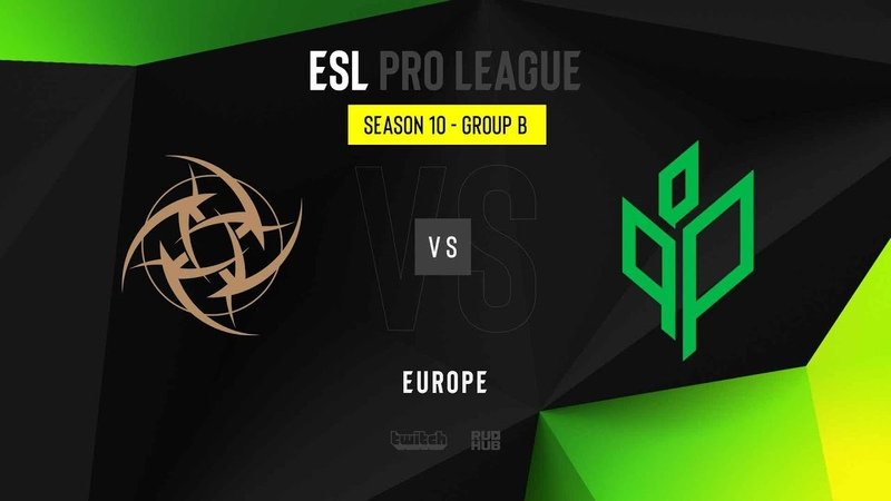 NiP vs Sprout - ESL Pro League Season 10 EU - map1 - de_mirage [Gromjkee Anishared]