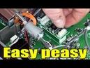 Ham radio: Installing optional voice memory board in Yaesu FTDX-1200