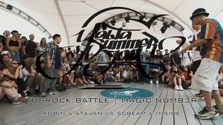 TOPROCK BATTLE | ROBIN & ATAJAN VS SCREAM & INSIDE