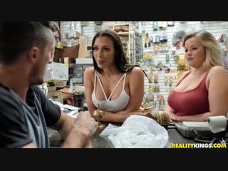 Rachel starr [порно вк, new porn vk, hd 1080, milf, face fuck, facial, office, straight, tattoos]