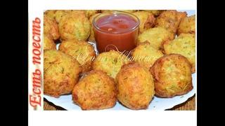 Кабачковые пончики - чудесные пухляши/Zucchini donuts