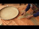 Step By Step Hand Weaving Bamboo Baskets.l