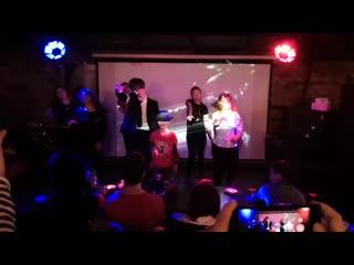Michael-christmas-party pushkarev club 29/06/2019 flash mob (beat it & thriller)