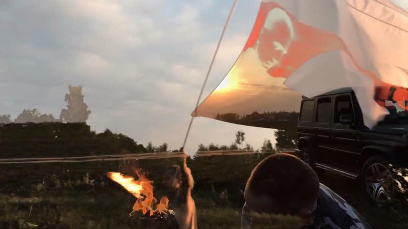 Северный флот поднимая знамя женский вокал