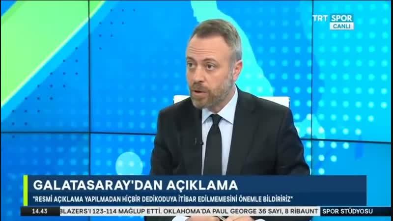 Galatasaray Transfer Gündemi Albayrakın Transfer Açıklamaları Trtspor