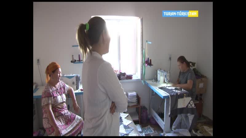 Түркістан ақпарат_Әлеуметтік көмек алып кәсіп ашқан отбасылар. 28 08 2019