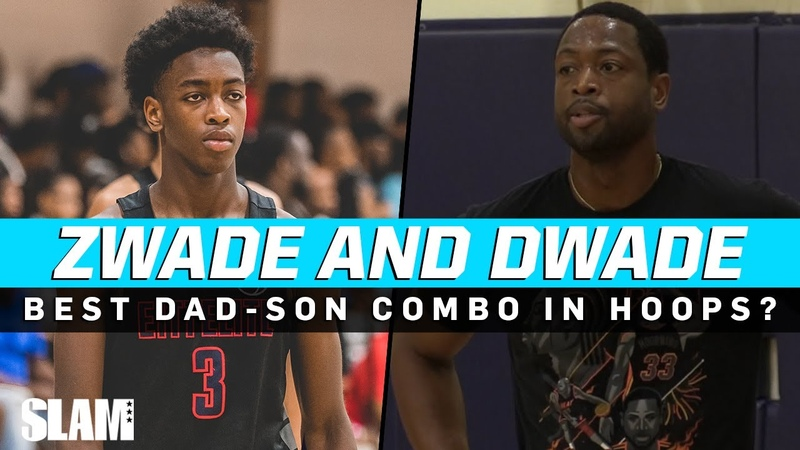 Dwyane Zaire Wade are TOO SMOOTH Who's Your Favorite Father Son Duo