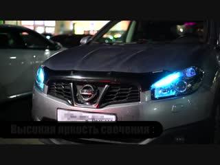 Обзор цветовых ламп на авто