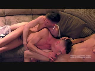 Hung Young Brit - Bottom Boy Max spunked up RAW