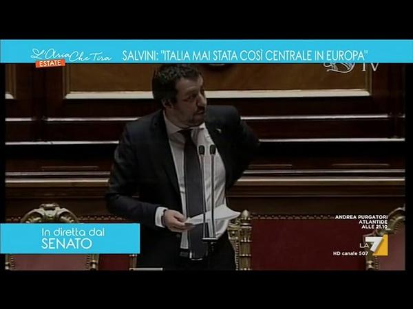 Salvini dal Senato 'Generosità se dietro c'è Soros mi viene qualche dubbio' смотреть онлайн без регистрации