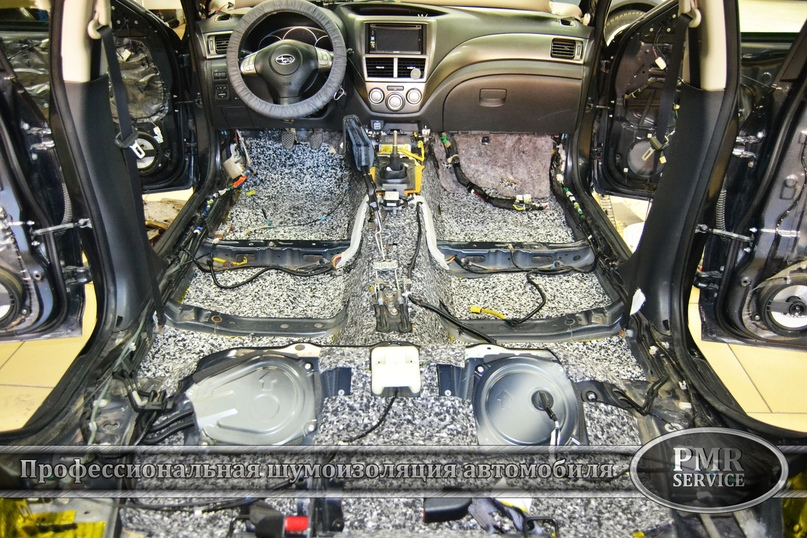Комплексная шумоизоляция Subaru Impreza, изображение №3