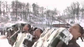 Chinese special forces show off their bizarre snow training rituals